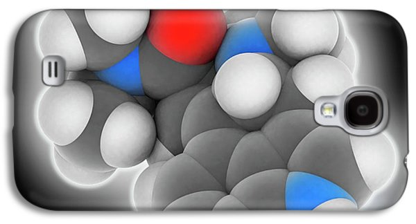 Lsd Drug Molecule Galaxy S4 Case by Laguna Design