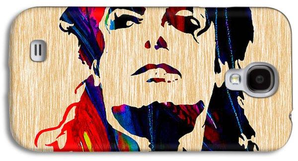 Michael Jackson Painting Galaxy S4 Case