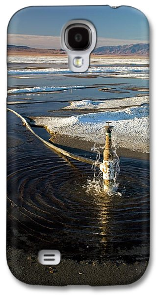 Owens Lake Re-irrigation Galaxy S4 Case by Jim West