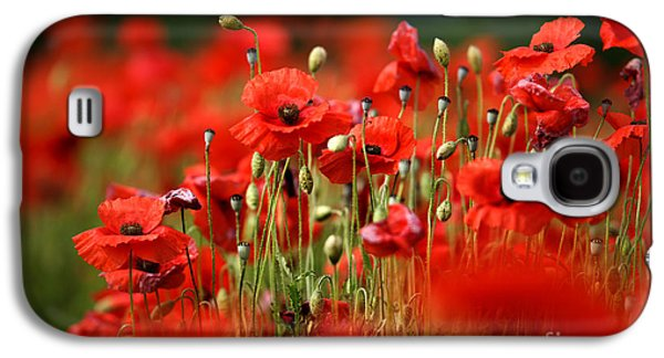 Poppy Dream Galaxy S4 Case