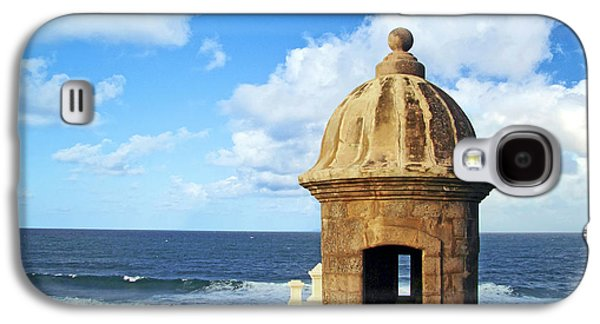 Puerto Rico, San Juan, Fort San Felipe Galaxy S4 Case by Miva Stock