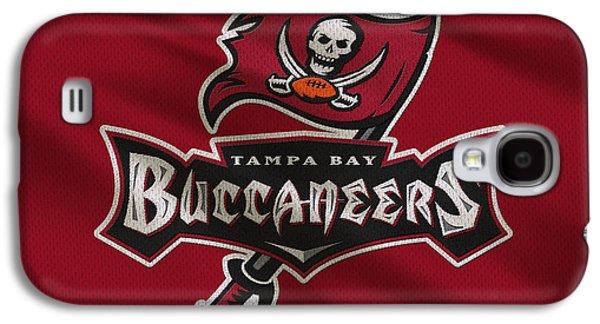 Tampa Bay Buccaneers Uniform Galaxy S4 Case by Joe Hamilton