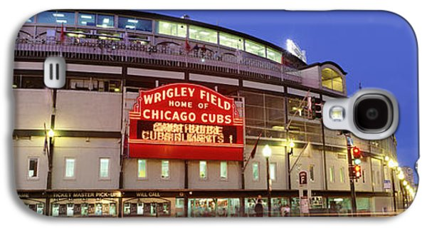Usa, Illinois, Chicago, Cubs, Baseball Galaxy S4 Case by Panoramic Images