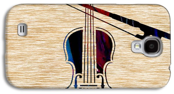 Violin And Bow Galaxy S4 Case