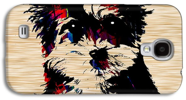 Yorkshire Terrier Galaxy S4 Case by Marvin Blaine