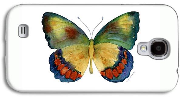 67 Bagoe Butterfly Galaxy S4 Case by Amy Kirkpatrick