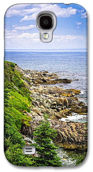 Atlantic Coast In Newfoundland Galaxy S4 Case by Elena Elisseeva