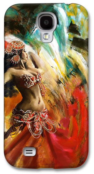 Abstract Belly Dancer 19 Galaxy S4 Case by Corporate Art Task Force