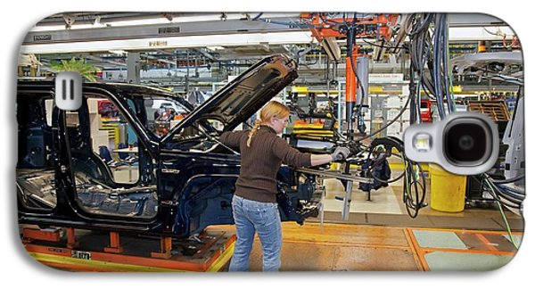 Car Production Assembly Line Galaxy S4 Case by Jim West