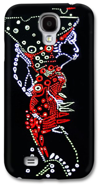 Dinka Lady - South Sudan Galaxy S4 Case
