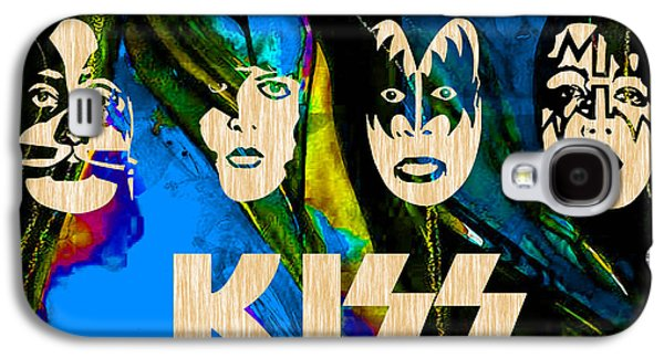Kiss Collection Galaxy S4 Case by Marvin Blaine