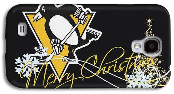 Penguin Galaxy S4 Case - Pittsburgh Penguins by Joe Hamilton