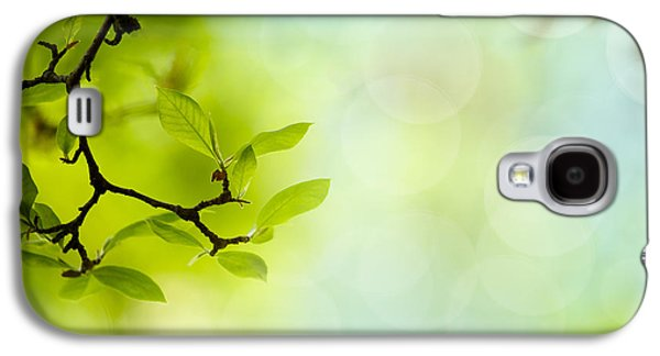 Spring Green Galaxy S4 Case