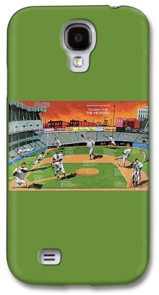 Yankee Stadium Galaxy S4 Case - New Yorker September 22nd, 2008 by Mark Ulriksen