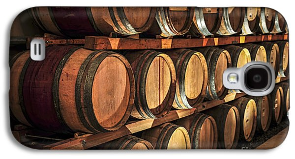 Wine Barrels Galaxy S4 Case by Elena Elisseeva