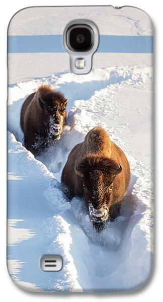 Wyoming, Yellowstone National Park Galaxy S4 Case by Elizabeth Boehm