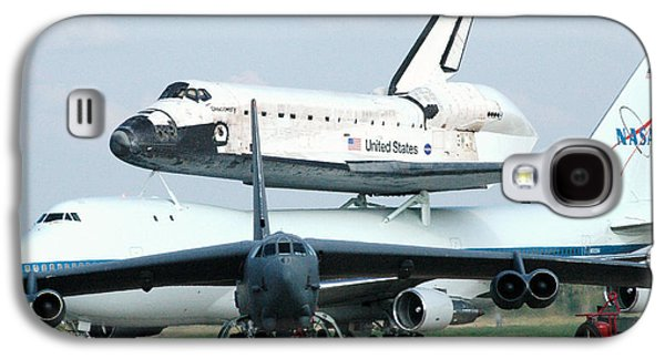 747 Transporting Discovery Space Shuttle Galaxy S4 Case