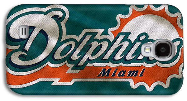 Miami Dolphins Uniform Galaxy S4 Case by Joe Hamilton