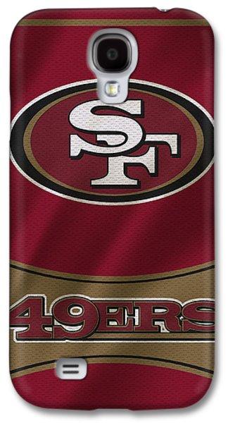 San Francisco 49ers Uniform Galaxy S4 Case by Joe Hamilton