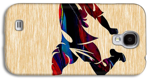 Soccer Galaxy S4 Case by Marvin Blaine