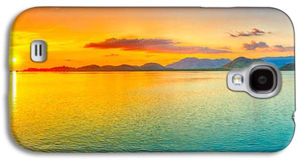 Sunset Panorama Galaxy S4 Case