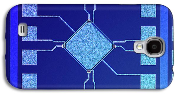 Surface Of Microchip Galaxy S4 Case