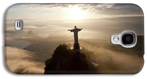 The Art Deco Statue Of Jesus, Known Galaxy S4 Case