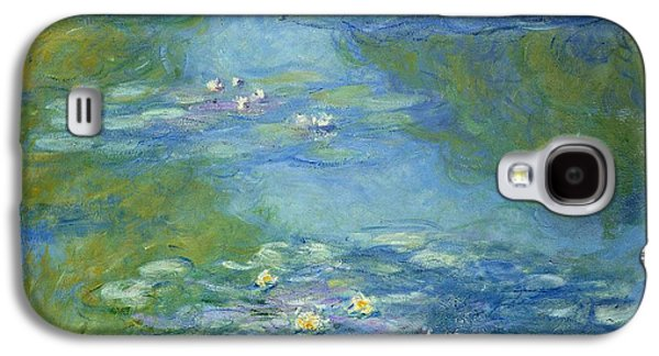 Waterlilies Galaxy S4 Case by Claude Monet
