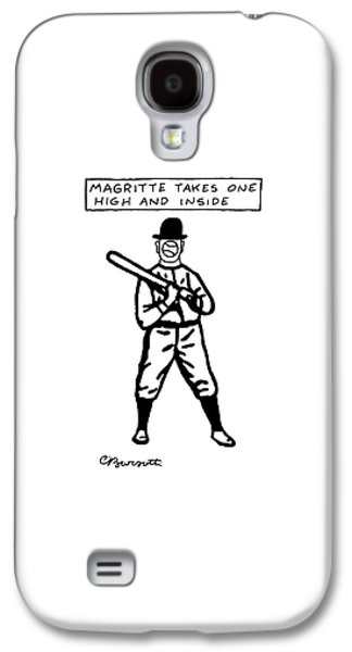 Magritte Takes One High Galaxy S4 Case by Charles Barsotti