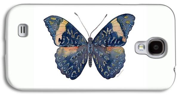 89 Red Cracker Butterfly Galaxy S4 Case by Amy Kirkpatrick