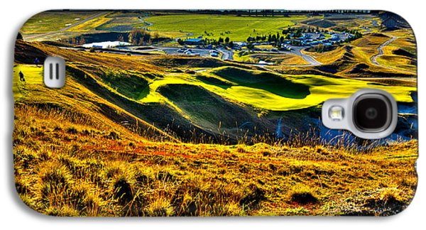 #9 At Chambers Bay Golf Course - Location Of The 2015 U.s. Open Tournament Galaxy S4 Case by David Patterson