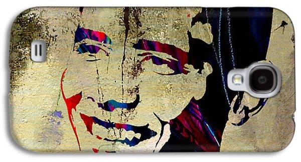 Barack Obama Galaxy S4 Case by Marvin Blaine
