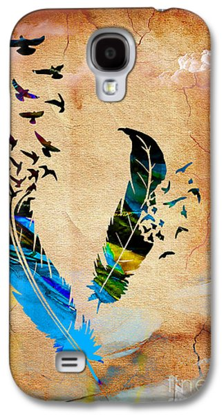 Birds Of A Feather Galaxy S4 Case by Marvin Blaine