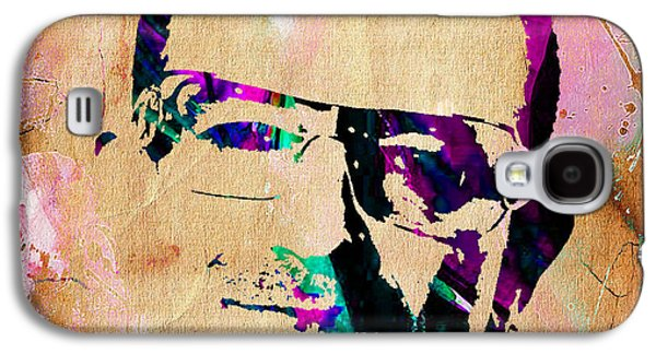 Bono U2 Galaxy S4 Case by Marvin Blaine