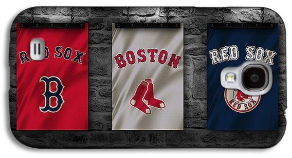 Boston Red Sox Galaxy S4 Case by Joe Hamilton