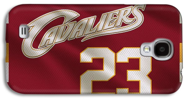 Cleveland Cavaliers Uniform Galaxy S4 Case by Joe Hamilton