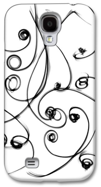 Plant Tendrils Galaxy S4 Case by Albert Koetsier X-ray