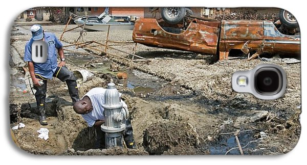 Repairing Hurricane Katrina Damage Galaxy S4 Case by Jim West
