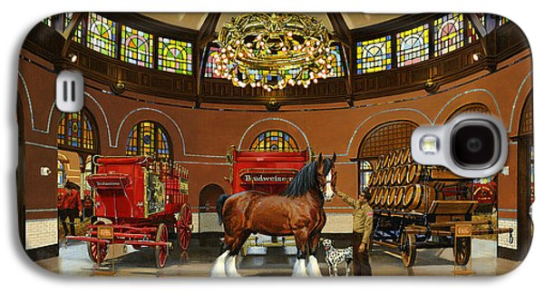 St. Louis Clydesdale Stables Galaxy S4 Case by Don  Langeneckert