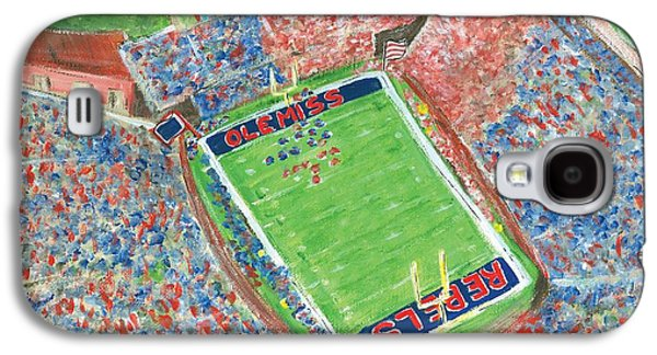 A Big Win In Oxford Ole Miss Alabama Game Galaxy S4 Case