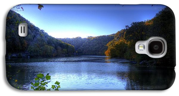 Galaxy S4 Case featuring the photograph A Blue Lake In The Woods by Jonny D