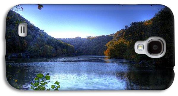 A Blue Lake In The Woods Galaxy S4 Case by Jonny D