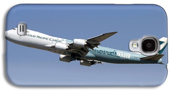 A Boeing 747-800 Cathay Pacific Cargo Galaxy S4 Case