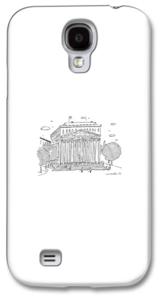 Washington D.c Galaxy S4 Case - A Building In Washington Dc Is Shown by Michael Crawford