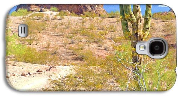 A Cactus In The Arizona Desert Galaxy S4 Case