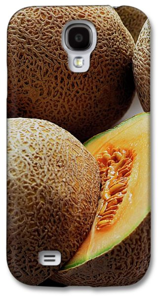A Cantaloupe Sliced In Half Galaxy S4 Case by Romulo Yanes