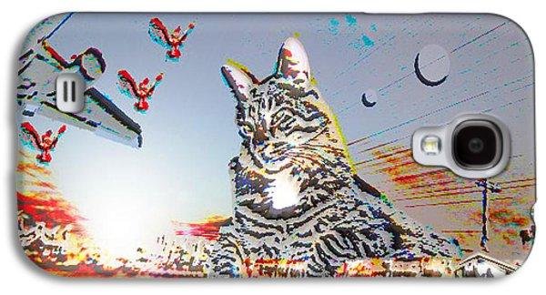 A Cat's World Galaxy S4 Case