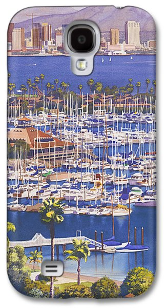 City Scenes Galaxy S4 Case - A Clear Day In San Diego by Mary Helmreich