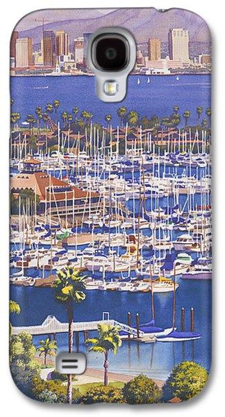 A Clear Day In San Diego Galaxy S4 Case by Mary Helmreich