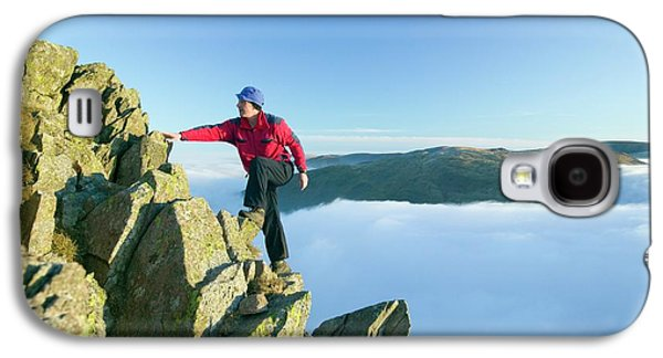 A Climber On Red Screes Galaxy S4 Case